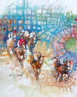 Portrait of a Horse Race