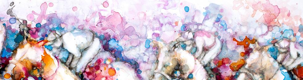 Lilac jockeys