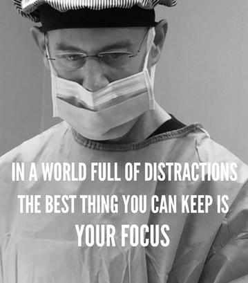 Dr Ces Colagrande - keep your focus