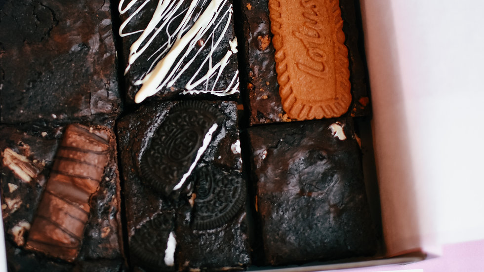 The Brownie Hug in a Box