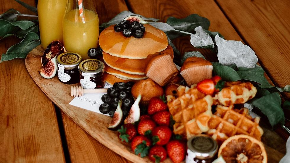 The Christmas Morning Pancakes and waffle Box