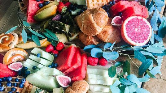 Breakfast Grazing Platters from