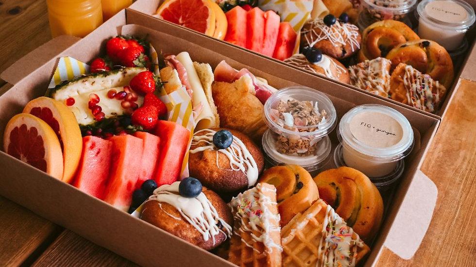 The Breakfast Graze in a Box