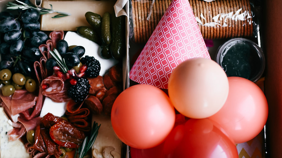 The Birthday Graze in a Box
