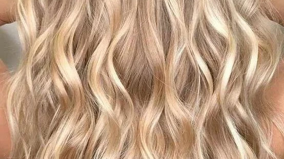 Clip-In Remy Human Hair Extension 18/613 Honey Blonde Highlights