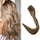 Thumbnail: Clip-In Remy Human Hair Extension 10/613 Ash Blonde Highlights