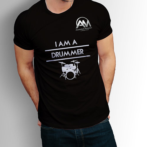 Anointed Musicians Drummer T-Shirt