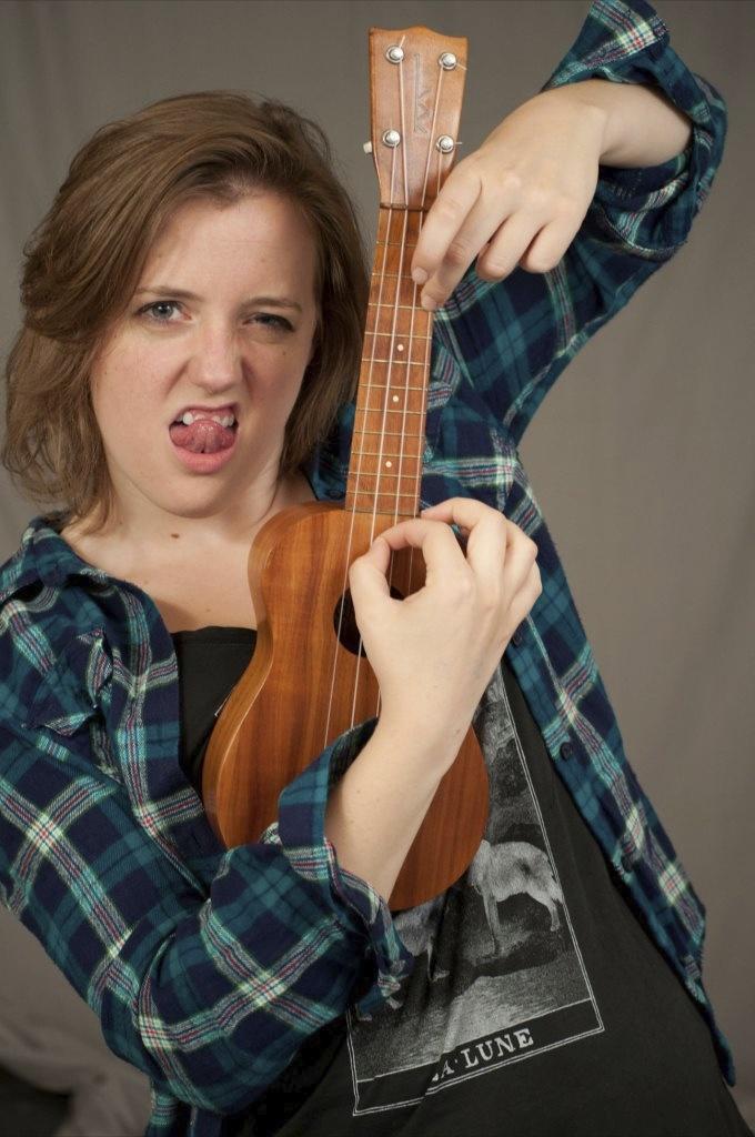 The ukulele's an intense instrument