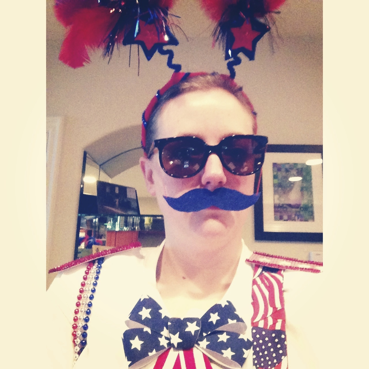 Just your normal 4th of July attire
