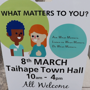 Kaumātua the focus at Taihape's What Matters To You Day
