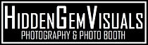 Hidden Gem Visuals Photography and Photo Booths Services.