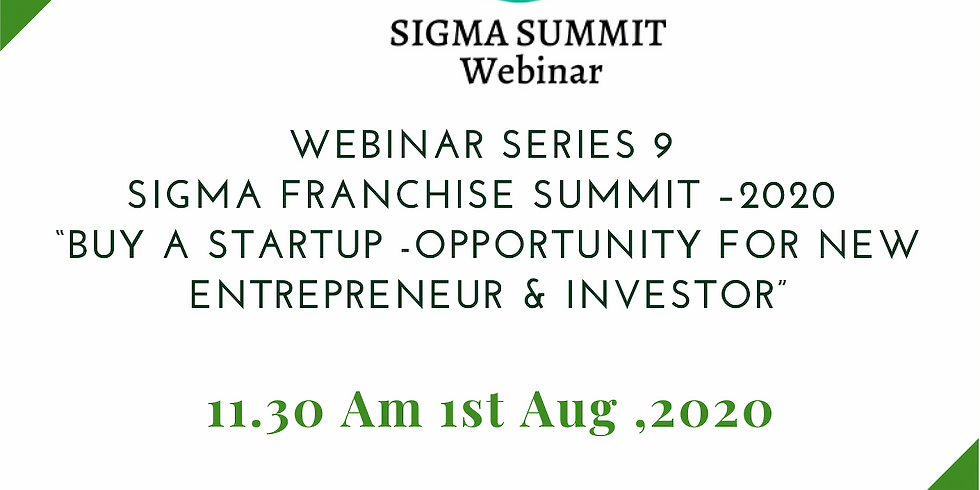 Buy a Start up – Opportunity for New Entrepreneur & Investor