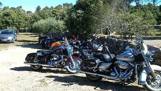 semaine Harley aux Bastides Provençales