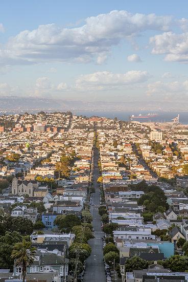 Overlook of San Francisco