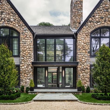 HOBI Award Winner - Best Exterior Home Feature - 2019  Tanner White Architects & Gatehouse Partners
