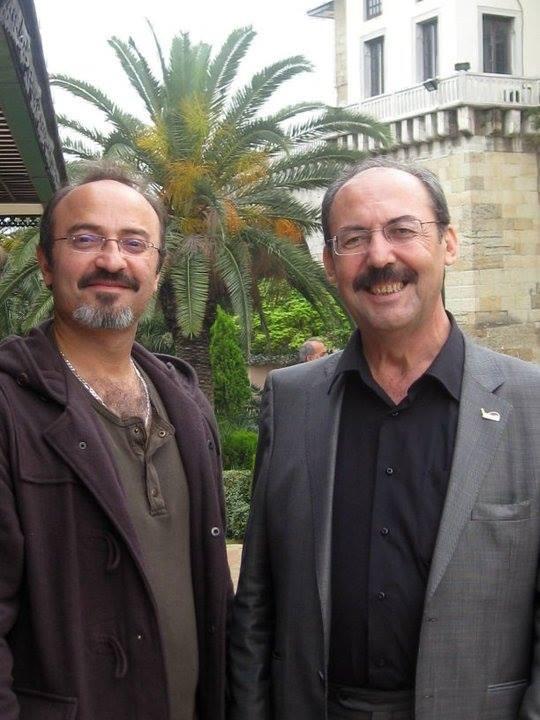 with Necati Celik. 2010