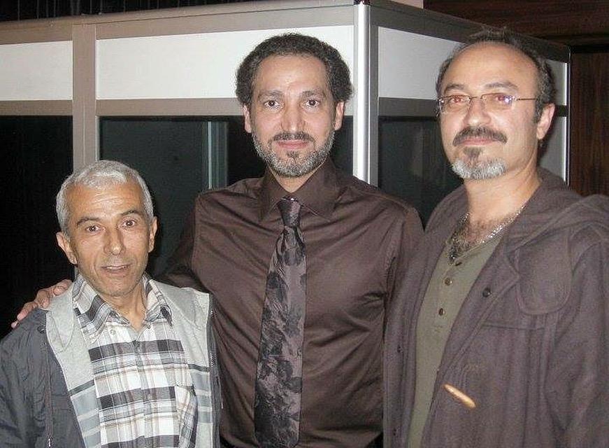 with Naseer Shamma and Ali Nisadir