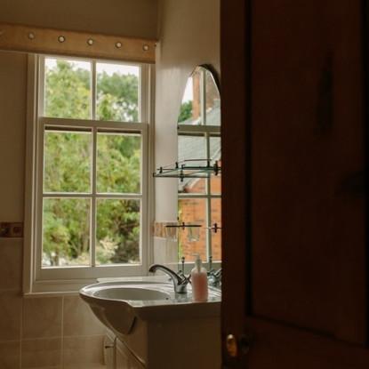 Single room private bathroom