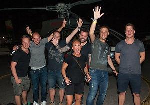 EMILY TAN with Armin van Buuren & crew,