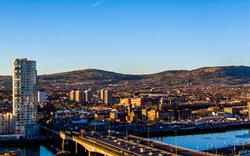 Belfast Northern Ireland Cityscape