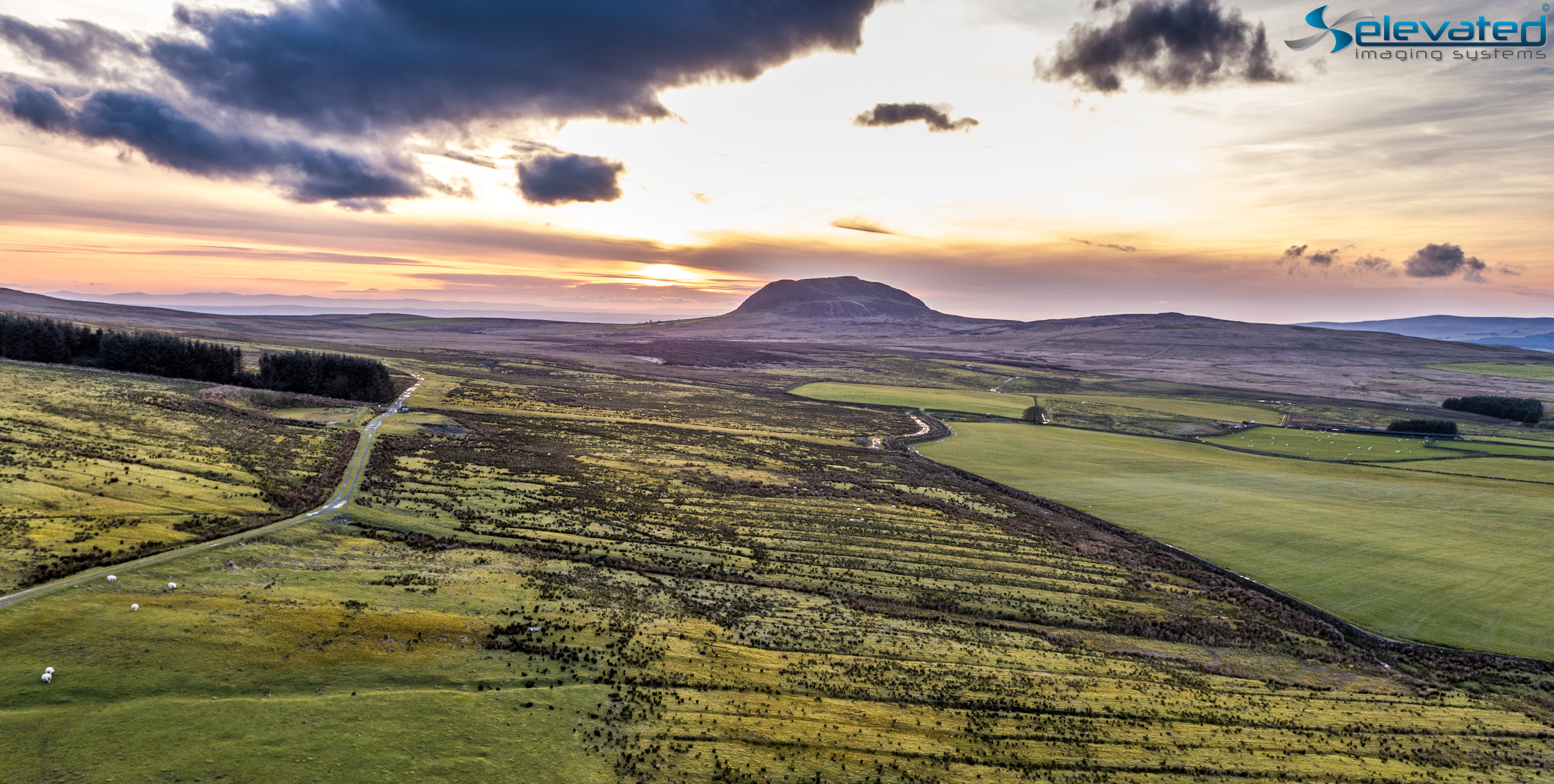 Slemish S Inspire 2 Elevated Imaging Systems Drone Photography County Antrim-