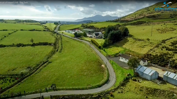 Drones used in live coverage 2016 Circuit of Ireland Rally