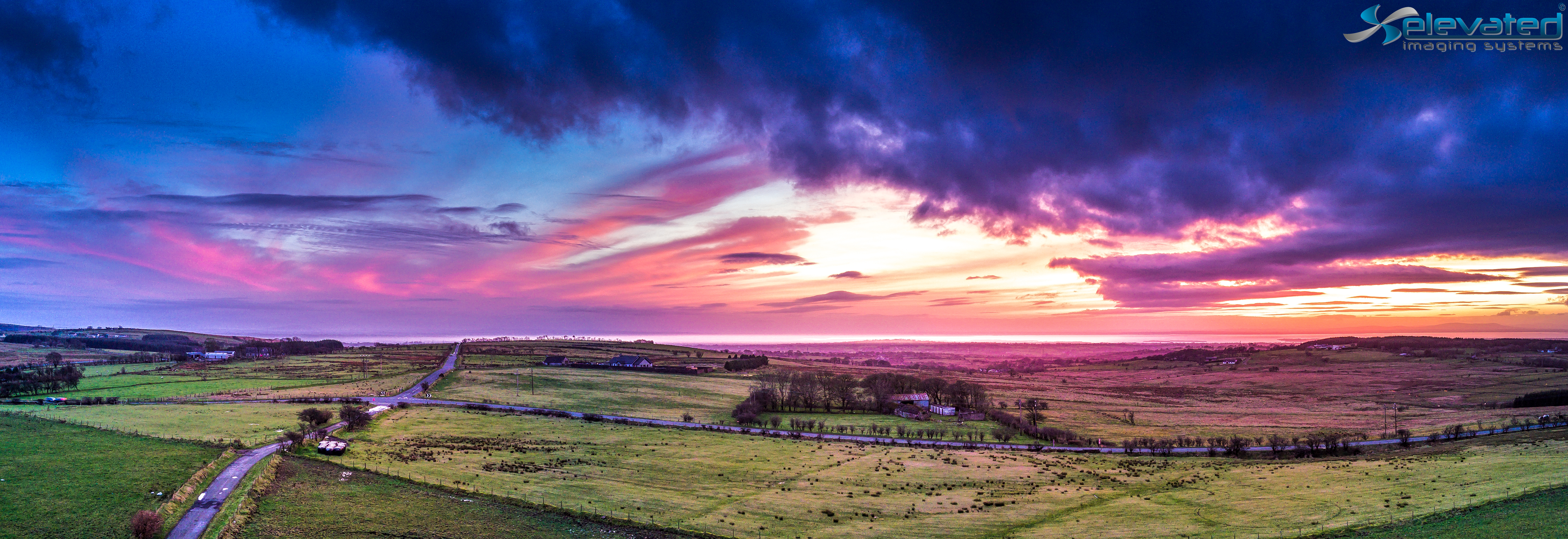 Elevated Imaging Systems Lough Neagh from Hannahstown--2