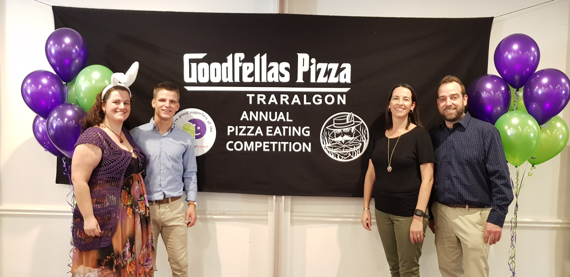 Goodfellas Pizza Eating Competition