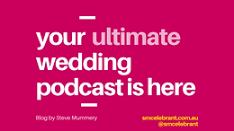Your Ultimate Wedding Podcast Is here