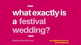 Are you having a Festival Wedding?