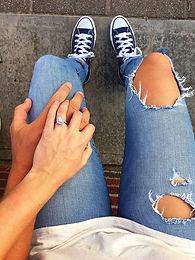 10 fun engagement ring reveals