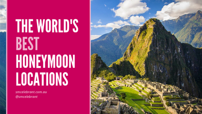 The world's best honeymoon destinations by month