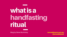 What is a Handfasting ritual?