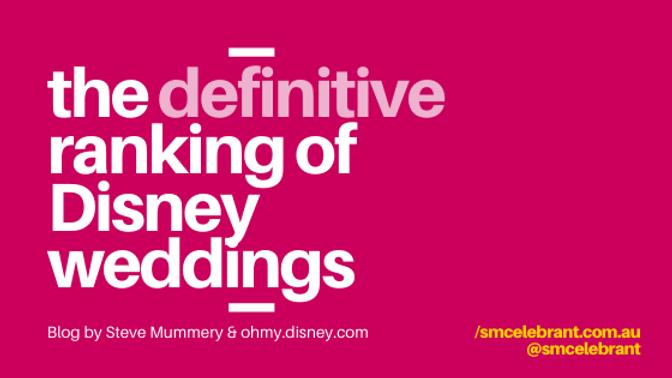 Disney's craziest weddings