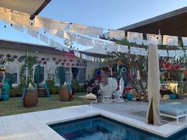The complete backyard setup