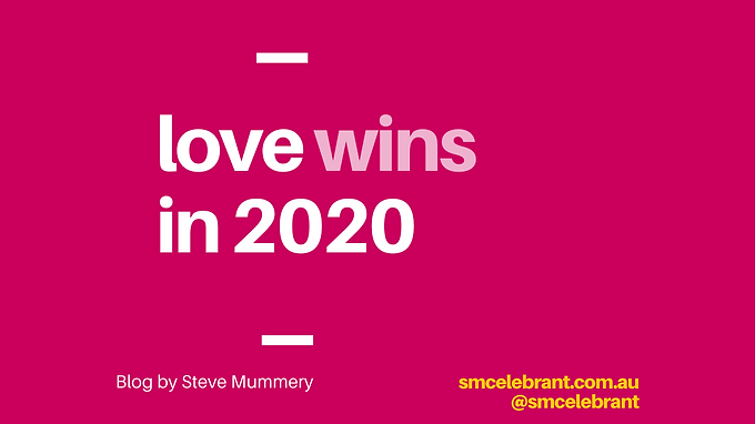 Love wins in 2020