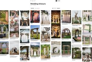 Steve Mummery Celebrant's Pinterest Collection of Arbours