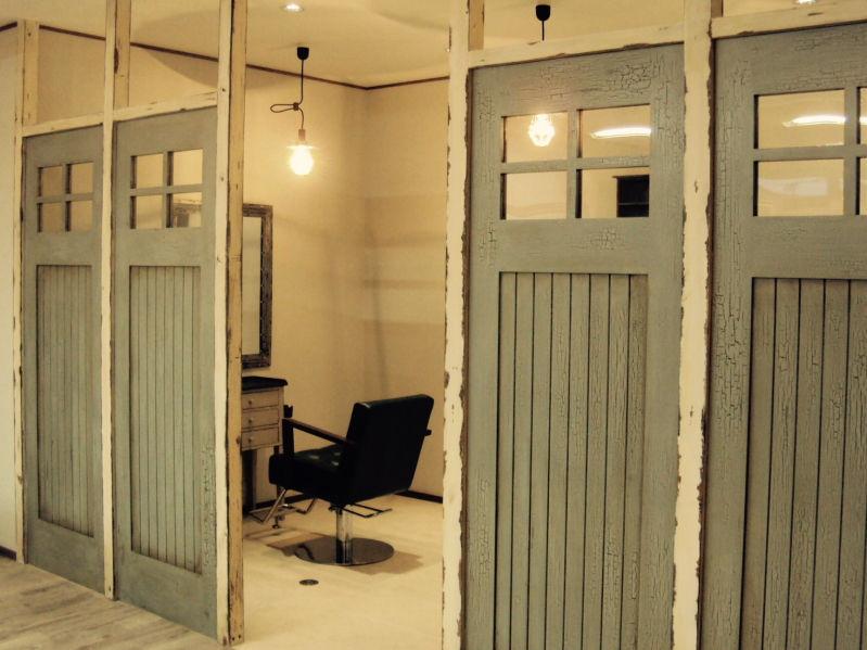 神奈川県座間市 美容室工事施工例