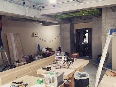 横浜市都筑区 美容室様着工