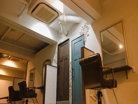 渋谷区 美容室内装工事