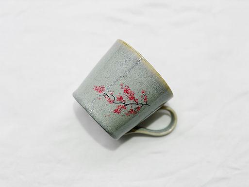 丸モ高木陶器 温感櫻 / 紅葉 杯