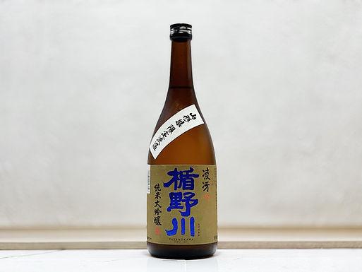 楯野川 純米大吟釀 凌冴 (りょうが) +15