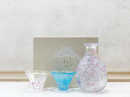 東洋佐々木ガラス 櫻富士 招福杯