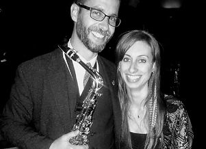 Matt Couzens Alto Sax with Janet-Lee Ropas