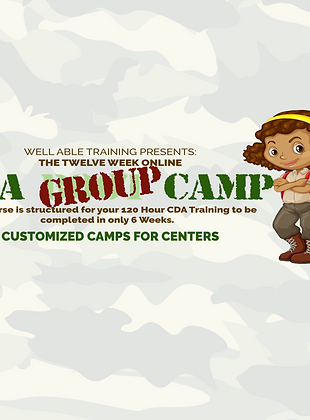 CDA Group Camp (5+ team members)