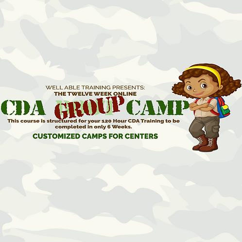 CDA Group Camp (5+ team members)