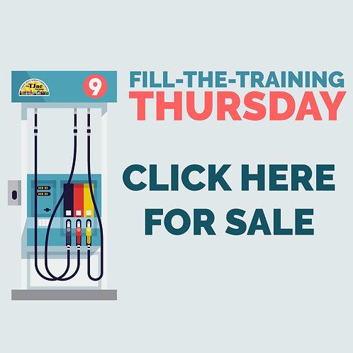 Fill-the-Training Thursday: Hybrid CDA Program