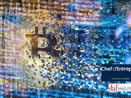 Article Chefdentreprise.com : Bitcoin : refuge investissement ou inutilité pour les PME ?