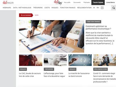 Article Dafmag.fr : Comment optimiser sa performance économique ?