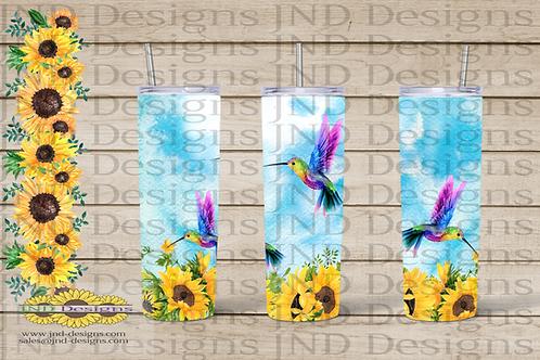 Nature Tumbler Series - Hummingbird